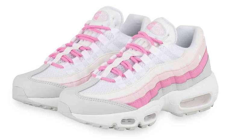 Nike Air Max 95 Essential WMNS Sneaker in weiss/pink für 63,94€ (statt 85€)