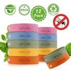 Janolia Mückenschutz Armband (12er Set) für 6,25€ inkl. Prime Versand