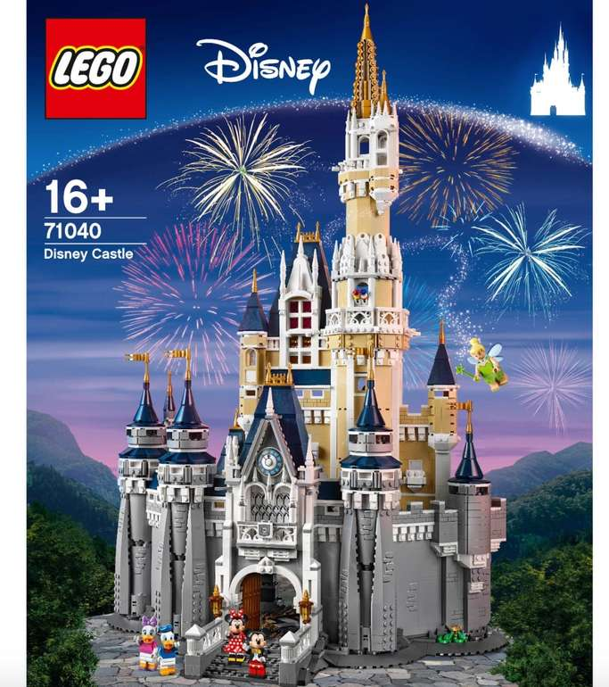 Lego Walt Disney World - Schloss (71040) für 341,17€ inkl. Versand (statt 439€)