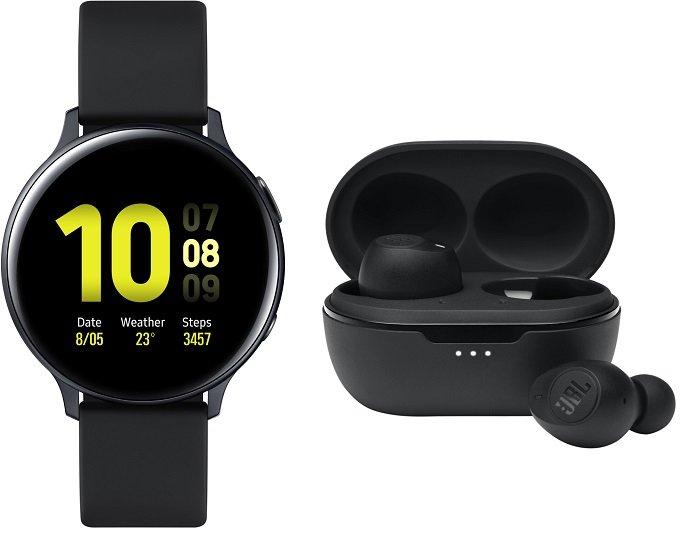 Samsung Galaxy Watch Active2 Aluminium mit 44mm + JBL Tune 115 TWS für 167€ (statt 218€) - Newsletter!