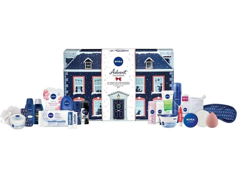 Nivea Adventskalender 2019 mit 24 Kosmetikprodukten für 20,90€ inkl. Versand