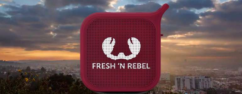 Fresh 'n Rebel Rockbox Pebble Bluetooth Header