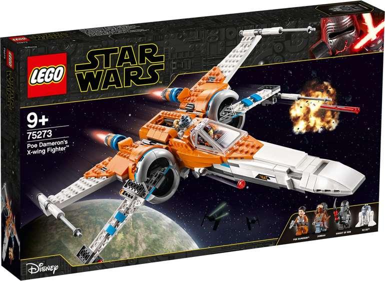 LEGO 75273 Star Wars - Poe Damerons X-Wing Starfighter für 67,89€ (statt 80€)