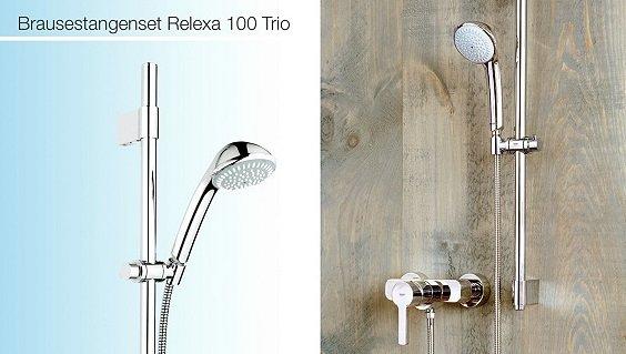 Grohe Armaturen und Duschsysteme ab 78,90€ inkl. Versand z.B. Relexa Trio 100