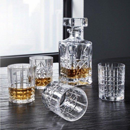 4 Spiegelau & Nachtmann Whiskygläser mit Glaskaraffe für 30,68€ (statt 47€)