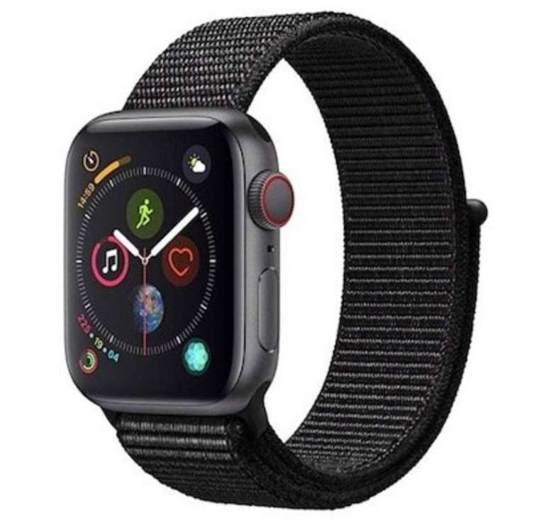 Apple Watch Series 4 (LTE, 40mm) mit Sport Loop für 419€ (statt 456€)