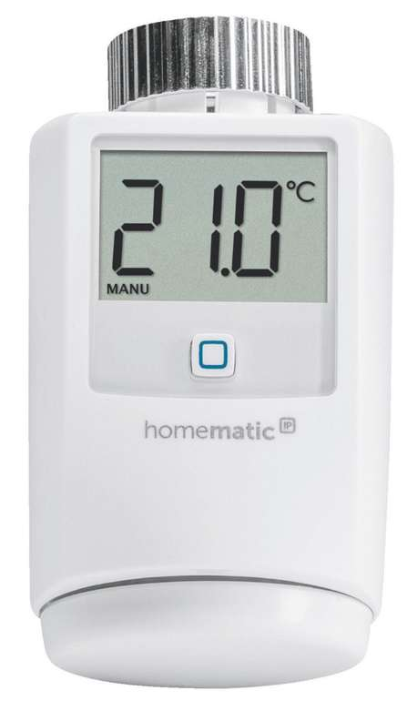 Homematic IP HMIP-eTRV-2 Funk-Heizkörperthermostat für 40€ (statt 47€)