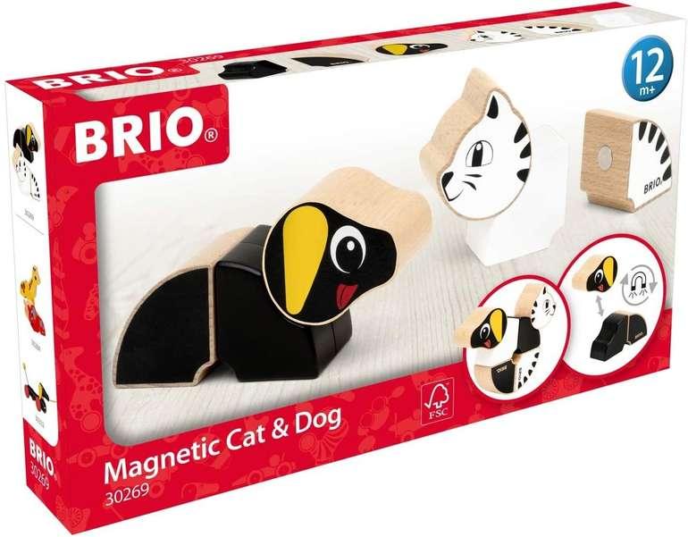 Brio Magnet-Tiere Hund und Katze (30269) für 9,85€ inkl. Prime Versand (statt 21€)