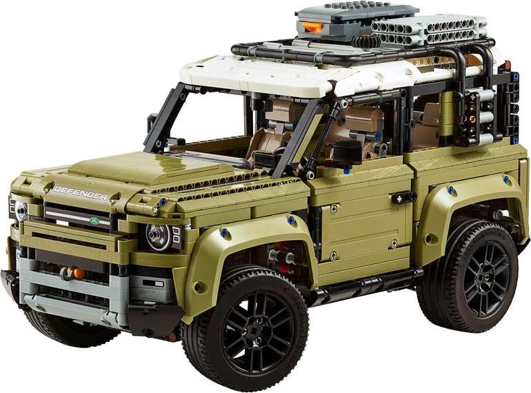 Lego Technic (42110) - Land Rover Defender für 124,48€ (statt 139€)