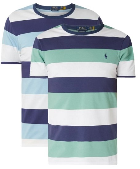 2er Pack Polo Ralph Lauren T-Shirt Custom Slim Fit für 47,98€ (statt 80€)