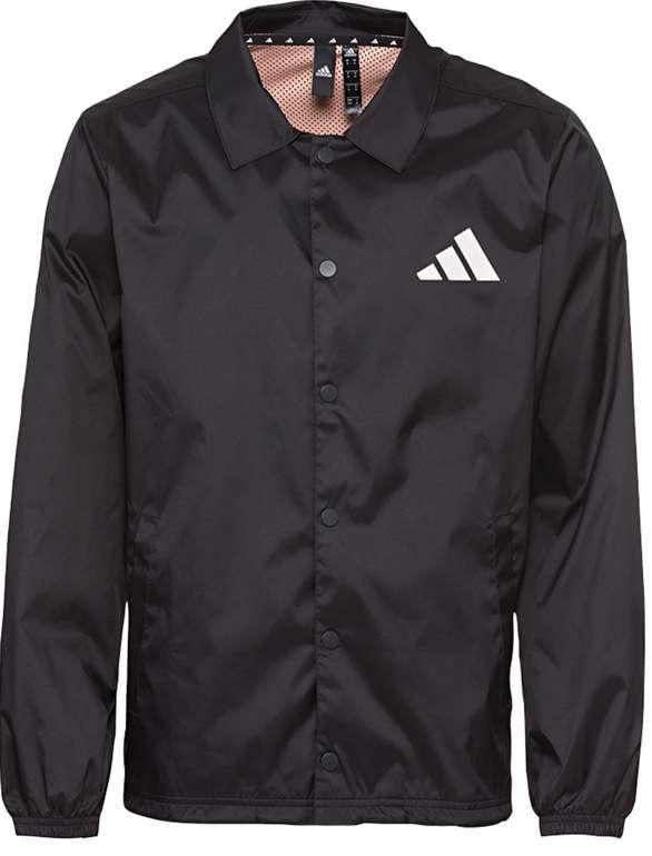 Adidas The Pack Coaches Herren Windbreaker in schwarz für 53,94€inkl. Versand (statt 65€)