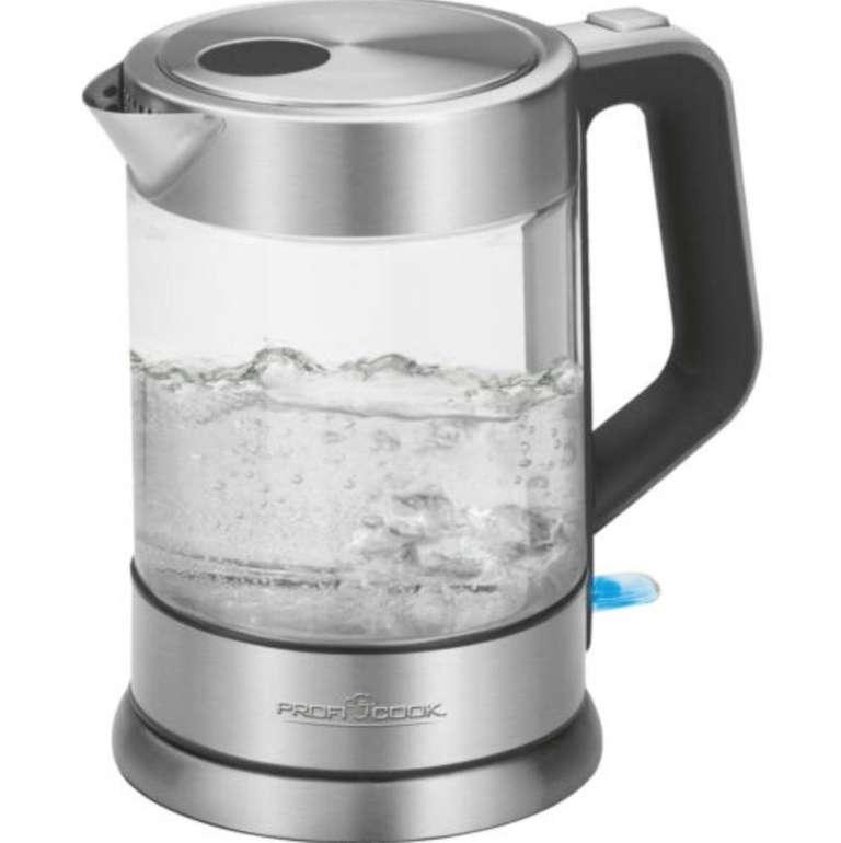 Profi Cook PC-WKS 1107 G Wasserkocher aus Glas/Edelstahl für 19€ (statt 28€)