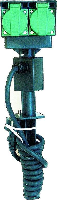 Elro PA-483 4-fach Außensteckdosensäule mit Erdspieß für 9,99€ inkl. Versand