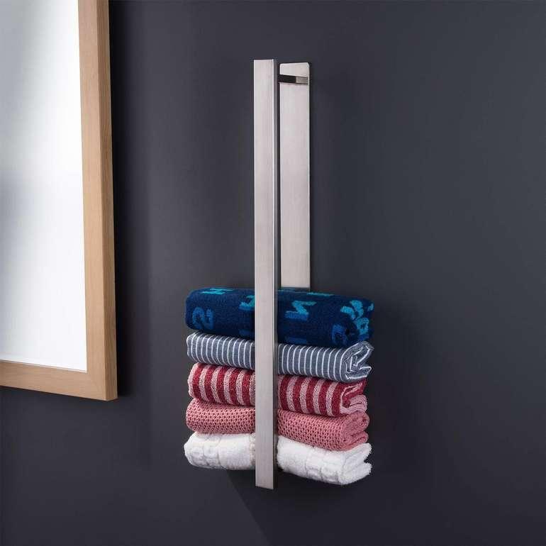 Ruicer Handtuchhalter (ohne Bohren) mit 55cm für 19,79€ inkl. VSK
