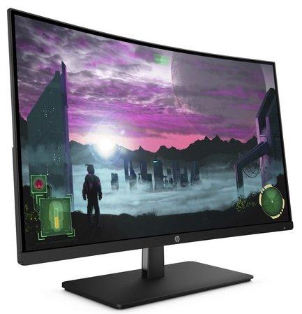 HP 27x Curved Monitor mit 27 Zoll Bildschirm & bis zu 144hz für 204,99€