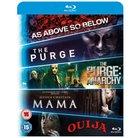 Katakomben + The Purge + The Purge Anarchy + Mama + Ouija (Blu-ray) für 8,20€