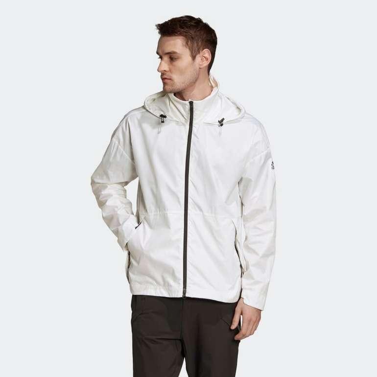 Adidas Urban Wind.Rdy Jacke in Weiß für 39,60€ inkl. Versand (statt 90€)
