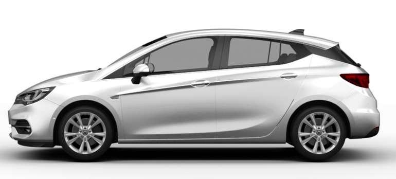 Gewerbeleasing: Opel Astra 1.2 Direct Injection Turbo 81kW Edition mit 110 PS für 49€ netto mtl. (LF: 0.24, Überführung: 890€)