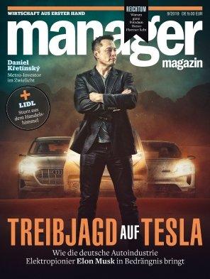 6 Ausgaben Manager Magazin für 55€ + 54€ BestChoice Gutschein
