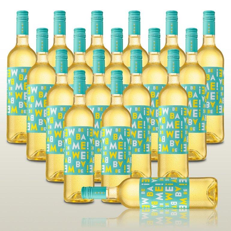 18 Flaschen spanischer Weißwein Bebame Blanco für 49,90€ inkl. Versand