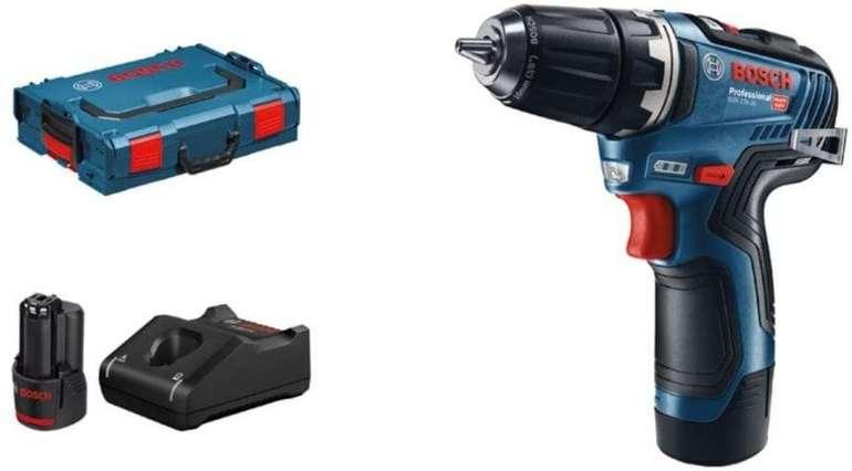 "Bosch Professional 12V Akkuschrauber ""GSR 12V-35"" (2x 3,0 Ah Akku & Ladegerät in L-BOXX) für 114,99€ inkl. Versand (statt 155€)"
