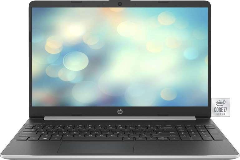 "HP 15s-fq1009ng - 15,6"" Notebook (i7, 512GB SSD, 32GB Intel Optane, 8GB RAM, FreeDOS) für 572,69€"