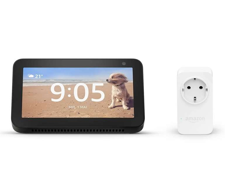 Amazon Echo Show 5 Smart Display + Amazon Plug für 60,93€ inkl. Versand (statt 92€)