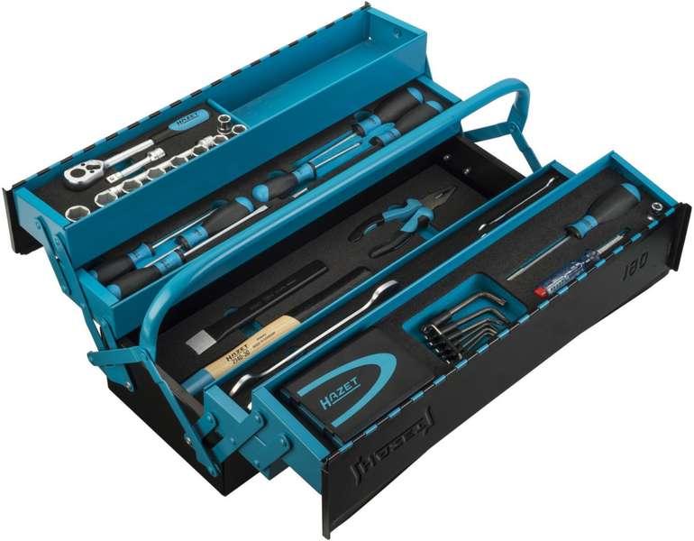 HAZET Metall-Werkzeugkasten mit Werkzeugen für 239,09€ (statt 419€)