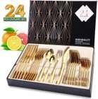 Elegant Life Bestecksets reduziert, z.B. 24-teilig in gold für 26,98€