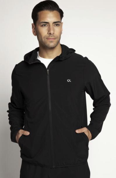 Calvin Klein Herren Windjacke in schwarz für 47,20€inkl. Versand (statt 69€)