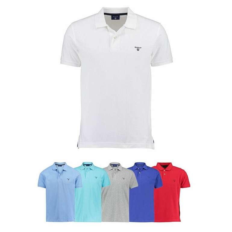 "Gant Poloshirt ""The Summer Pique"" (versch. Farben) für 33,72€ inkl. Versand (statt 44€)"