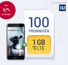 GMX Allnet-Tarife + Smartphone für 0€ (E-/D-Netz mit 1-3GB LTE) ab 9,99€ mtl.