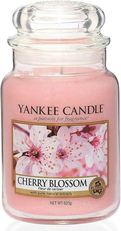 "Yankee Candle Duftkerze ""Cherry Blossom"" (623g) für 18,99€ inkl. Prime Versand (statt 22€)"
