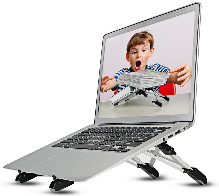 Verschiedene Megainvo Produkte reduziert - z.B. Laptop Ständer für 7,82€ (Prime)