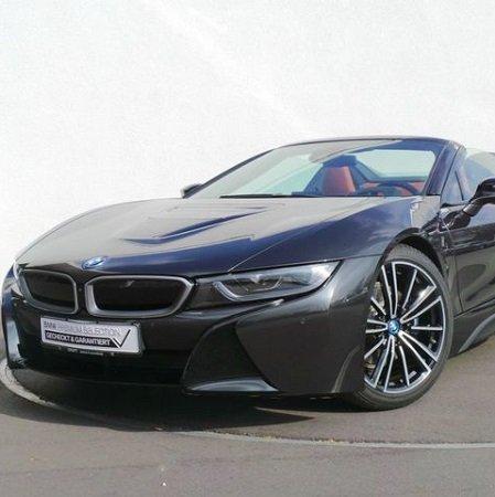Privat + Gewerbe: BMW i8 Roadster Hybrid mit 374 PS für 649€ Brutto mtl. leasen