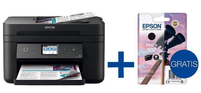 Epson WorkForce WF-2860DWF Multifunktionsdrucker + Patrone für 79€ inkl. VSK