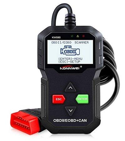 Konnwei KW590 OBDII Diagnosegerät Scanner für 19,99€ mit Prime (statt 33€)
