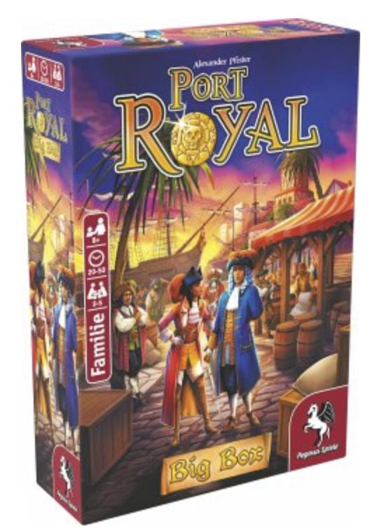 Port Royal Big Box Brettspiel für 15,83€ inkl. Versand (statt 20€)