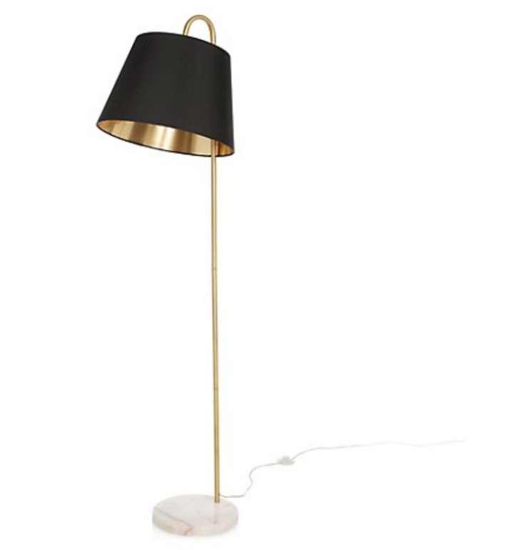 my HOME Stehlampe Fuß aus Marmor (160 cm hoch) für 86,82€ inkl. Versand (statt 136€)