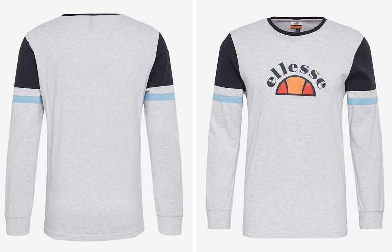 Ellesse Sweatshirt 'Greco' in zwei Farben 2