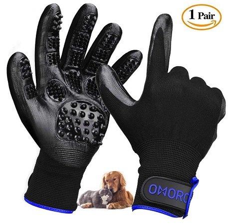 Omorc Doppelpack Fellpflege-Handschuhe für nur 7,91€ inkl. VSK