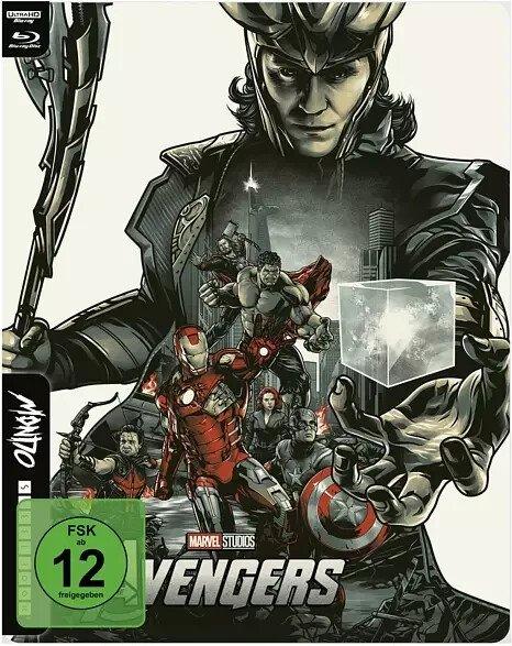 The Avengers - 4K UHD Mondo Steelbook Edition (Blu-ray) für 23,98€ inkl. Versand (statt 30€)