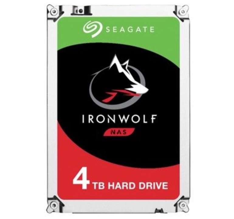 """Seagate IronWolf - 4TB HDD-NAS-Festplatte (3,5"""", 180 MB/S Lesegeschwindigkeit) für 89€ (statt 111€)"""