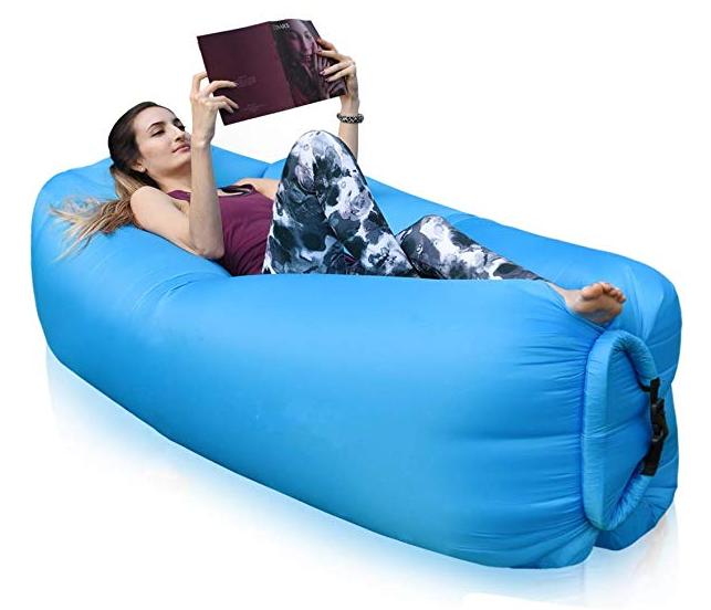 Fowlan Aufblasbares Sofa in blau für 9,96€ inkl. Versand (statt 12€) - Prime!