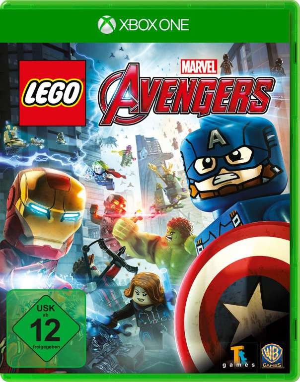 Lego Marvel Avengers (Xbox One) für 9,99€inkl. Versand (statt 20€)
