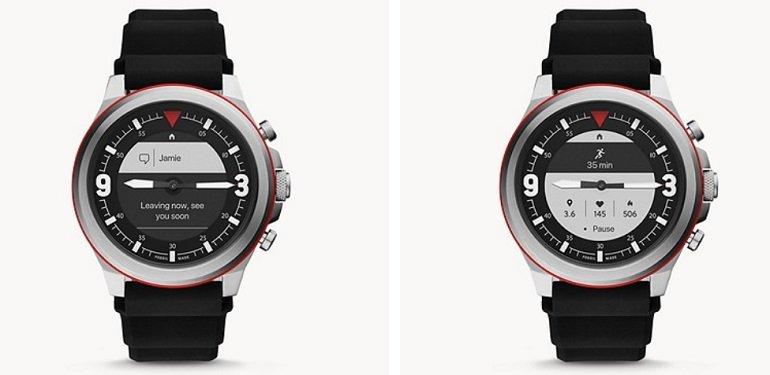 Fossil FTW7020 HR Latitude Hybrid Smartwatch