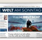 """Jahresabo """"Welt am Sonntag"""" für 239,20€ + 170€ Amazon-<mark>Gutschein</mark>"""