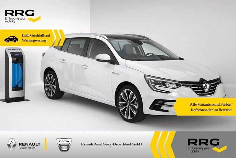 Renault Megane Grandtour Plug-in Hybrid im Full-Service Leasing 4
