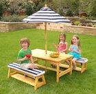 Für die Kleinen: Kidkraft Gartentischset mit Bank für 134,99€ (statt 150€)