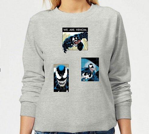 30% auf lizensierte Marvel-Kleidung bei Zavvi - z.B. Venom Collage Pulli 16,09€